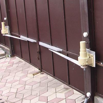 Автоматическое открывание распашных ворот наружу